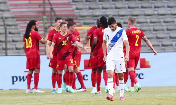 Βέλγιο-Ελλάδα: Ευκαιρία ο Μασούρας, απάντησε ο Λουκάκου, το γκολ ο Αζάρ (photos+videos)
