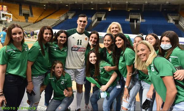 Παναθηναϊκός: Η περηφάνια του Χεζόνια για τις «πράσινες» Πρωταθλήτριες (photos)