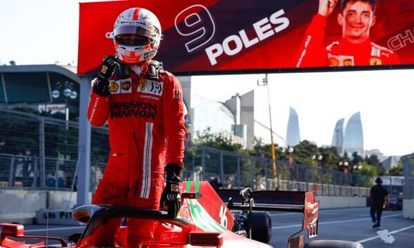 Formula 1: Δεύτερη σερί pole position ο Λεκλέρκ