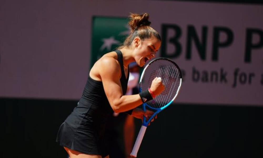 Σάκκαρη - Roland Garros: Θρίαμβος σε επική μάχη με την Μέρτενς (videos)