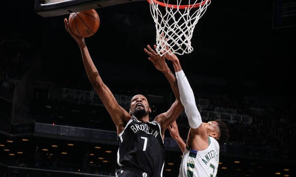 NBA: Πρώτο βήμα για Νετς - Πάλευε μόνος ο Γιάννης (photos+video)