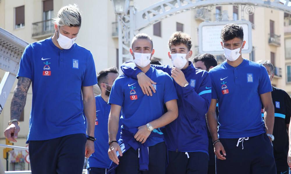 Εθνική Ελλάδας: Βόλτα στη Μάλαγα πριν το τεστ με Νορβηγία (photos+video)