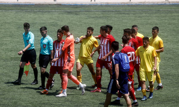Super League Κ19: Ισόπαλο το Άρης-Ολυμπιακός, πέρασε πρώτος ο ΠΑΟΚ! (Photos)