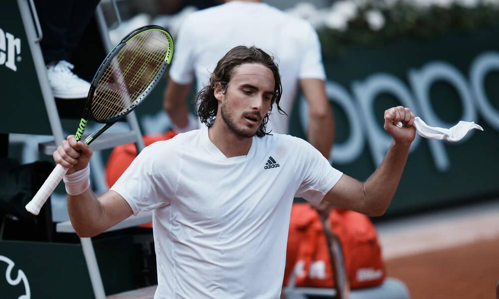 Στέφανος Τσιτσιπάς: Τίποτα δεν τον σταματά - Πέρασε στους «8» του Roland Garros