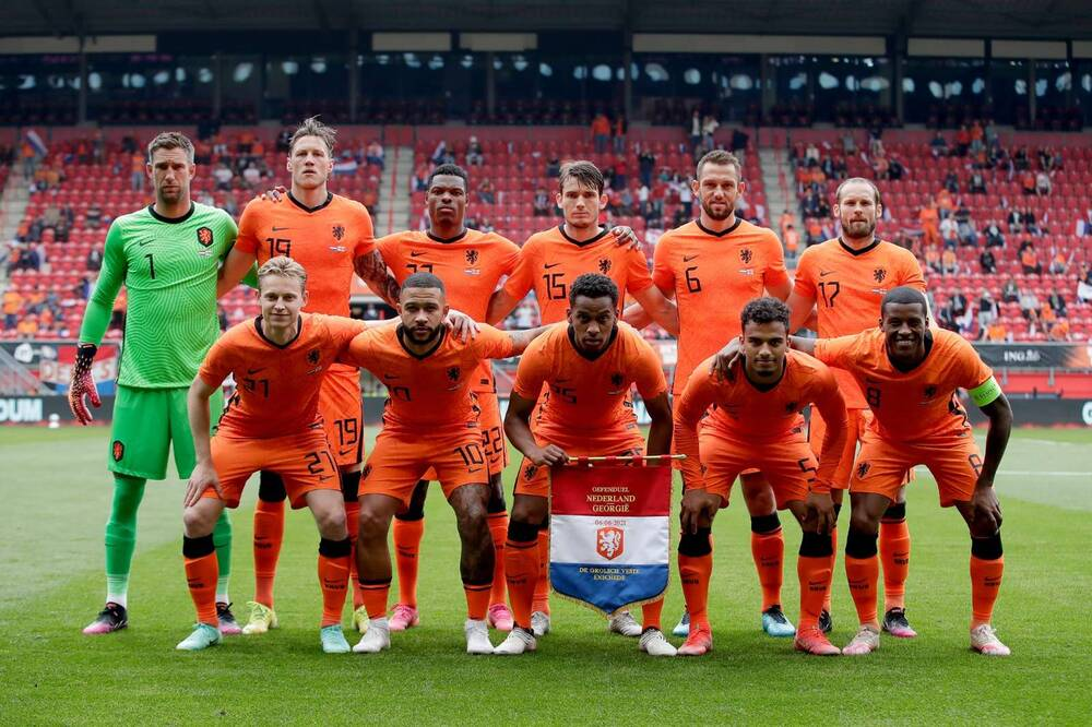 Euro 2020: Έδειξαν έτοιμοι Ολλανδοί και Άγγλοι! (Videos+Photos)