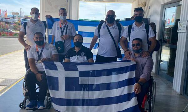 Η επιστροφή της ελληνικής ομάδας του στίβου από το Ευρωπαϊκό πρωτάθλημα (video)