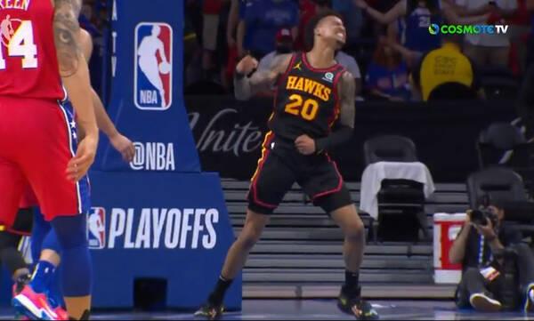 NBA: Με υπογραφή Γιανγκ το «διπλό» των Χοκς στη Φιλαδέλφεια (video)