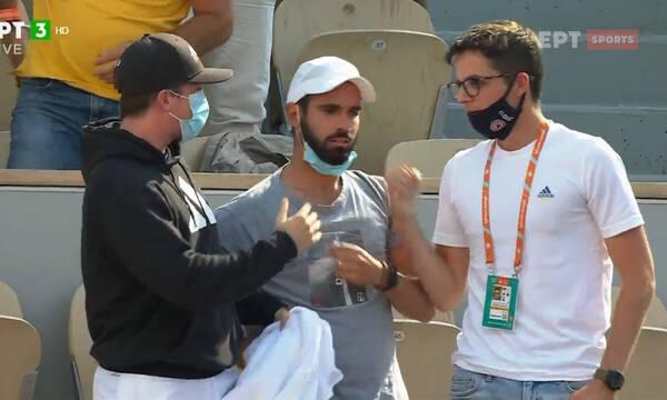 Roland Garros: Ο Μητσοτάκης πανηγύρισε τη νίκη της Σάκκαρη (video)