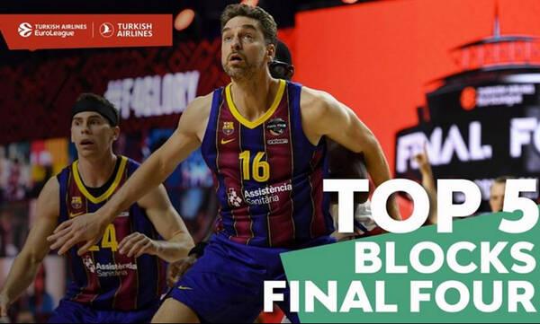 Euroleague: Οι κορυφαίες τάπες του Final-4 (video)