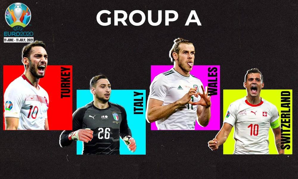 Euro 2020: Τα ρόστερ των ομάδων του Α' ομίλου (photos)