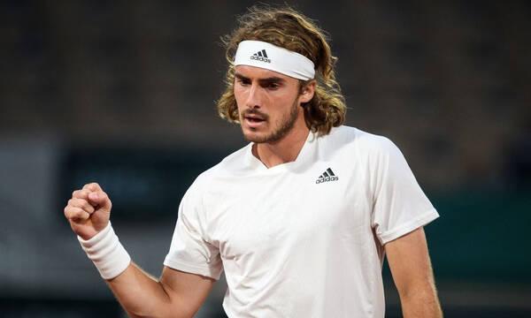 Τσιτσιπάς - Roland Garros: Άντεξε στην αντεπίθεση του Μεντβέντεφ και φουλ για τους «4» (video)
