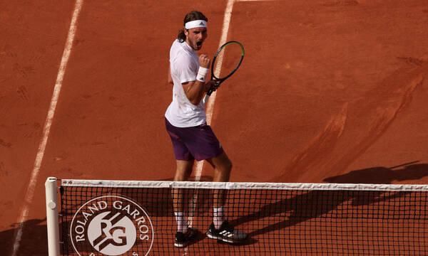 Τσιτσιπάς - Roland Garros: Λάμπει στην Πόλη του Φωτός, διέλυσε τον Μεντβέντεφ (videos)