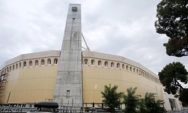 ΑΕΚ: Έτοιμη η είσοδος της «Αγια-Σοφιάς ΟPAP Arena» από την οδό Καππαδοκίας (photos)