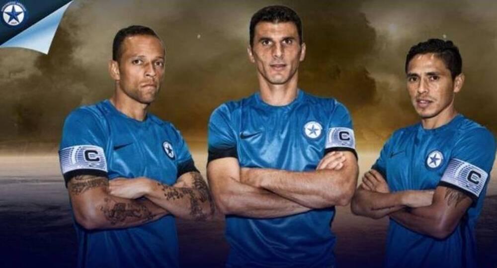 Ατρόμητος: Οι τρεις σωματοφύλακες της ομάδας του Περιστερίου! (photos)