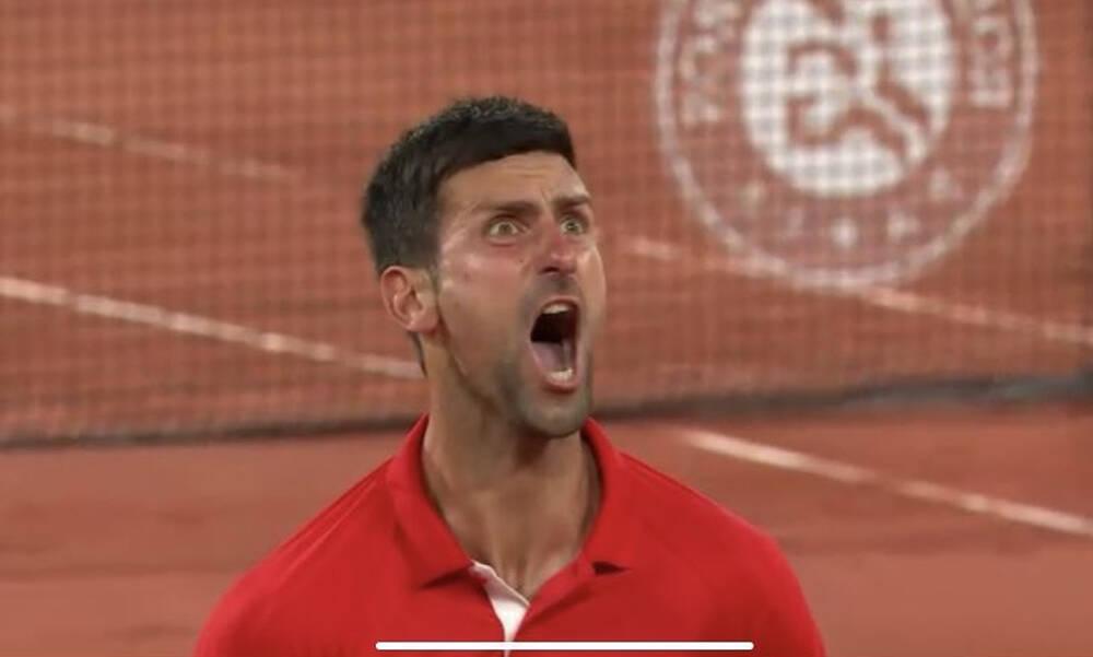 Roland Garros: Κέρδισε δύσκολα και ξέσπασε σαν... τρελός ο Τζόκοβιτς (video)