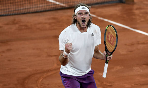Τσιτσιπάς - Roland Garros: Επίσημη η ώρα έναρξης του ημιτελικού με Ζβέρεφ (photo)