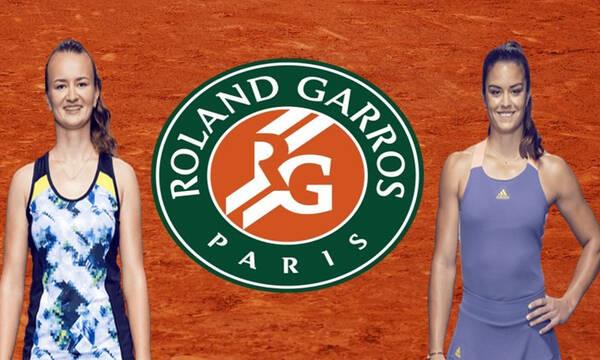 Roland Garros Live: Λεπτό προς λεπτό η μάχη της Σάκκαρη με την Κρεϊτσίκοβα