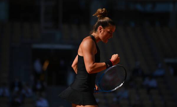 Σάκκαρη - Roland Garros: Ο έξαλλος πανηγυρισμός της Μαρίας στο 1-1 (videos)