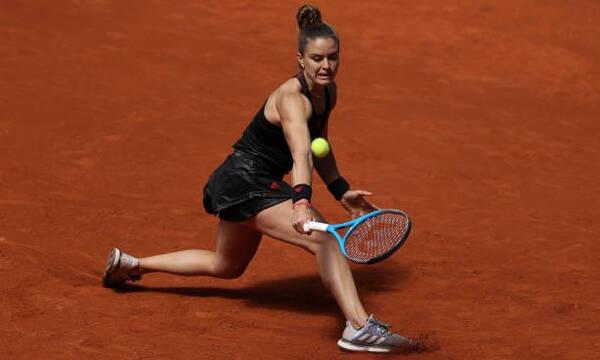 Σάκκαρη - Roland Garros: Λύγισε η Μαρία, αλλά ο τίτλος θα έρθει... (video)