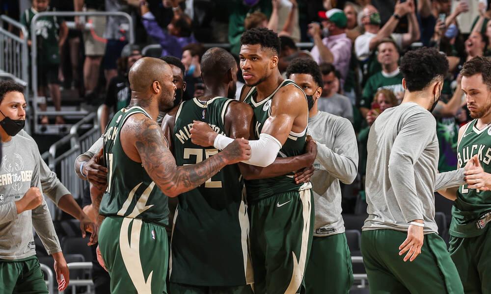 NBA: «Ζωντανοί» οι Μπακς κόντρα στους Νετς (photos+video)