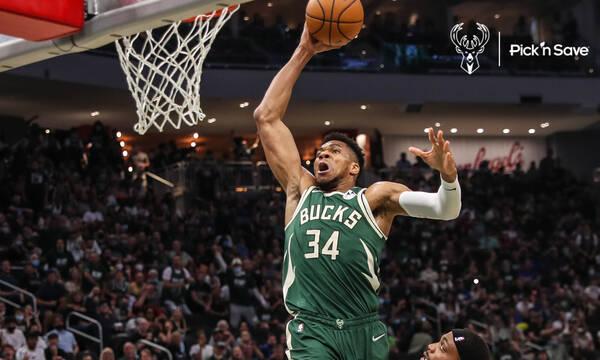 NBA: Τα καλύτερα του Giannis και η τάπα του Θανάση στον Τζέιμς (photos+videos)
