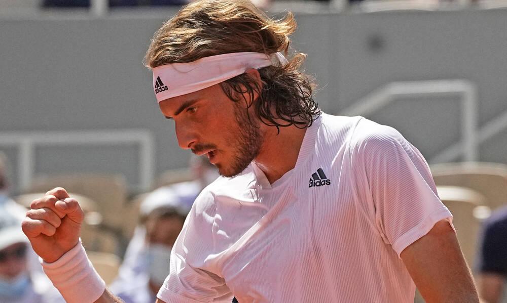 Τσιτσιπάς: Σήκωσέ το ρε Στέφανε! - Στον τελικό του Roland Garros με μυθικό τένις