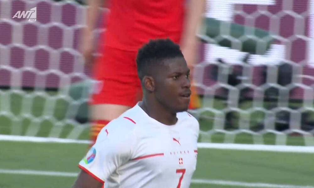 Euro 2020: Ουαλία-Ελβετία – Θωρηκτό ο Εμπολό, κεφαλιά και 0-1! (video)
