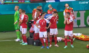 Euro 2020 Δανία-Φινλανδία – Διακοπή στο ματς, τεράστια αγωνία για τον Έρικσεν! (video)