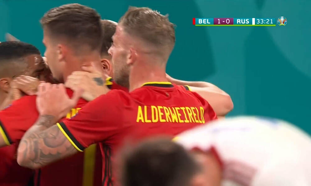 Euro 2020: Μενιέ και 2-0 το Βέλγιο! (Video)