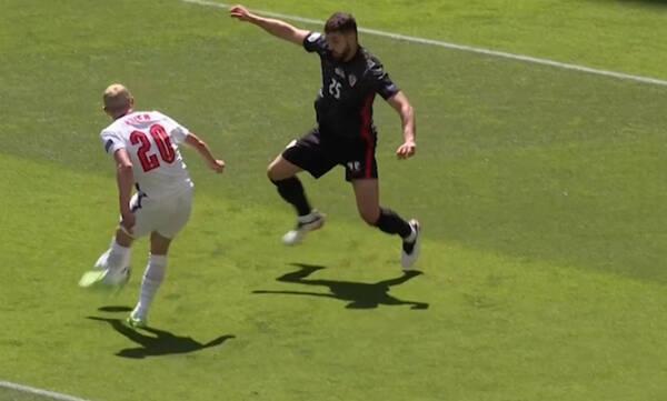 Euro 2020: To δοκάρι του Φόντεν στο Αγγλία-Κροατία (video)