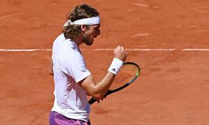 Τελικός Roland Garros Τζόκοβιτς - Τσιτσιπάς: Μυθικός Στέφανος, κάνει το 2-0 στα σετ (videos)