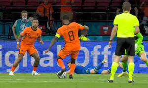 Euro 2020: «Οβίδα» Βαϊνάλντουμ και 1-0 η Ολλανδία (video)