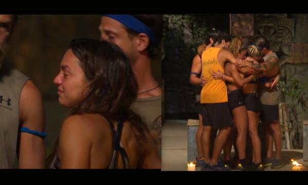 Survivor: Η Καρολίνα αποχώρησε και ξέσπασαν όλοι σε κλάματα - Μια «γροθιά» οι παίκτες