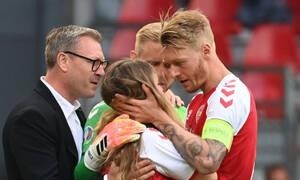 Euro 2020: Ανατριχιαστική αποκάλυψη για τη γυναίκα του Έρικσεν - Πίστεψε πως ήταν νεκρός