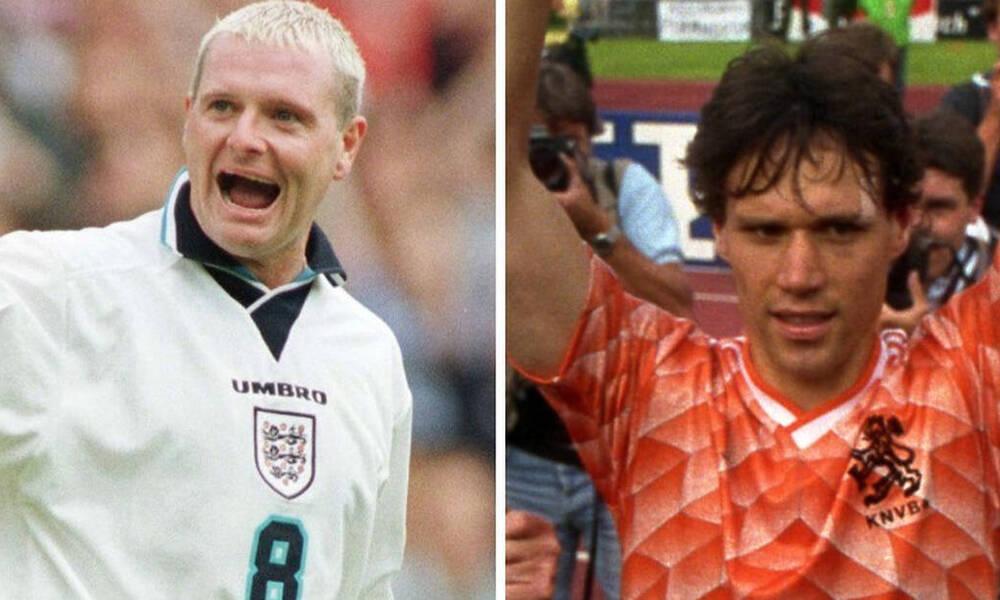 Το καλύτερο γκολ των Euro: Πολ Γκασκόιν ή Μάρκο Φαν Μπάστεν;
