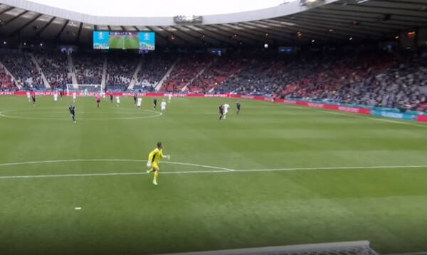 Euro 2020: Απίθανο γκολ στο Σκωτία-Τσεχία - Σκόραρε από τη... σέντρα (video)
