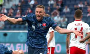 Euro 2020: Νέο προβάδισμα με Σκρίνιαρ για Σλοβακία (video)