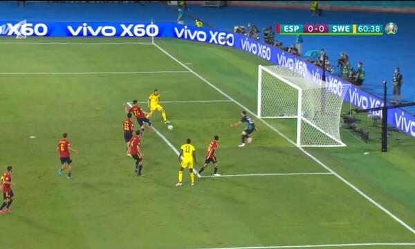 Euro 2020 Ισπανία - Σουηδία: Αυτά ΔΕΝ χάνονται - Απίστευτη ευκαιρία από τον Μπεργκ