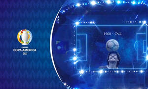 Copa America: Μαγικό αφιέρωμα στον Ντιέγκο Μαραντόνα (video+photos)