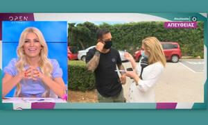 Τριαντάφυλλος: Τηλεοπτική πρόταση «βόμβα» για τον τραγουδιστή - Άφωνη η Καινούργιου!