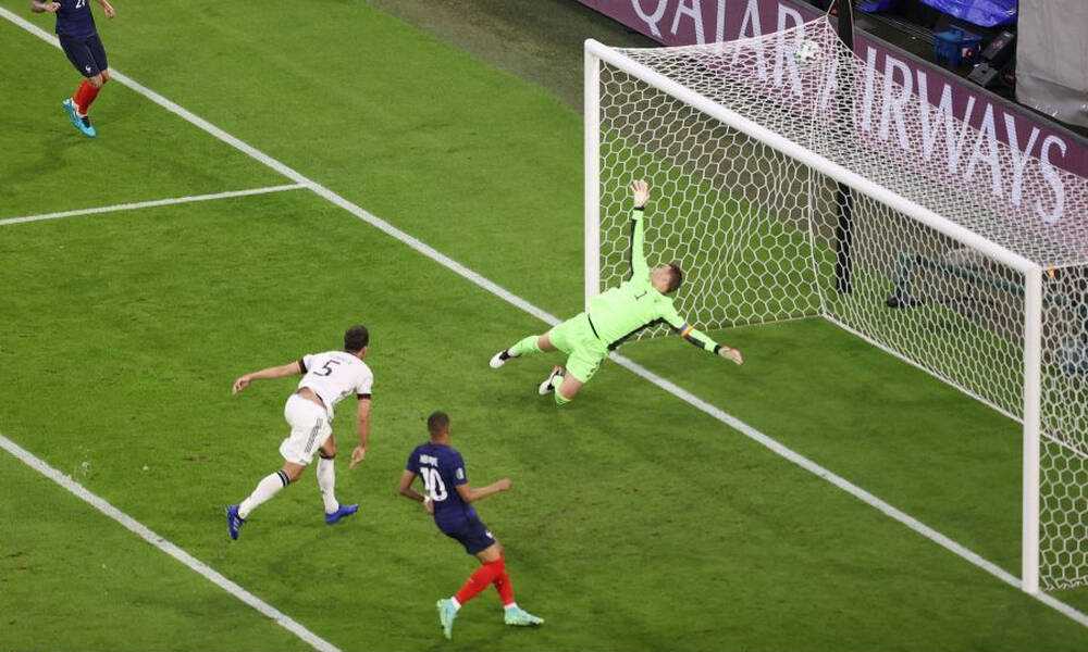 Euro 2020: Ο Χούμελς «κάρφωσε» τον... Νόιερ στο 1-0 της Γαλλίας (video+photos)