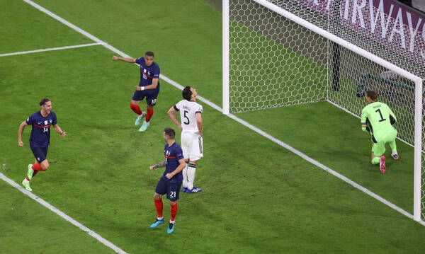 Euro 2020: Τα highlights του Γαλλία-Γερμανία (video)