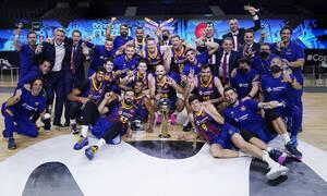 Πρωταθλήτρια Ισπανίας η Μπαρτσελόνα - Διέλυσε την Ρεάλ Μαδρίτης, με σούπερ Καλάθη! (videos)