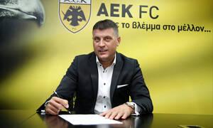 Live Streaming η παρουσίαση Μιλόγεβιτς στην ΑΕΚ (video)