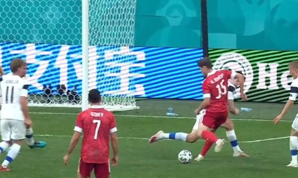 Euro 2020: Αποχώρησε με φορείο ο Φερνάντες - Απίθανο γκολ ο Μίραντσουκ
