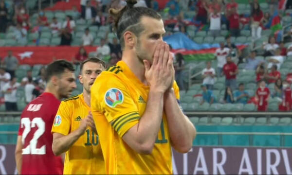 Euro 2020:  Ο Γιλμάζ αστόχησε... μόνος του και ο Μπέιλ έχασε πέναλτι (videos)