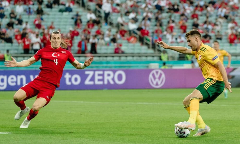 Euro 2020: Τουρκία-Ουαλία 0-2 - Τα highlights από τον θρίαμβο της παρέας του Μπέιλ! (video+photos)