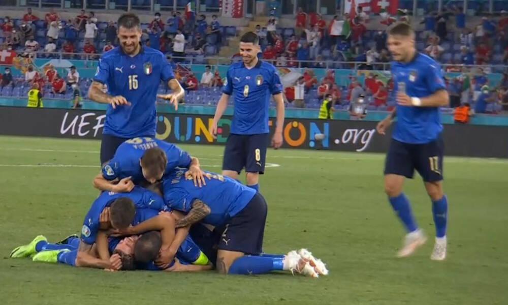 Euro 2020: Καταιγιστική η Ιταλία, 2-0 με γκολάρα Λοκατέλι (video)