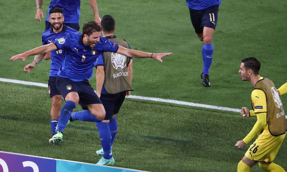Euro 2020: Ιταλία-Ελβετία 3-0 - Τα highlights από το νέο πάρτι της «Σκουάντρα Ατζούρα» (video)