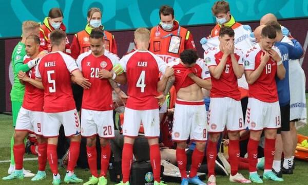 Euro 2020: Εμφύτευση απινιδωτή στον Έρικσεν (photos)